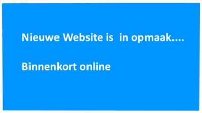 Nieuwe Website…